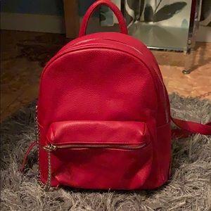 Forever 21 red backpack